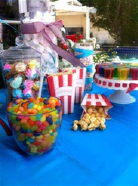 candy buffet table supplies los angeles jars decoration