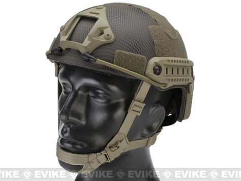 emerson bump type tactical airsoft helmet mich ballistic type advanced navy seal evike
