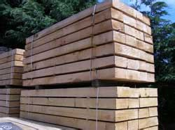 Sawn Sleepers by Juha Co Uk Timber Wholesalers Importers And Exporters