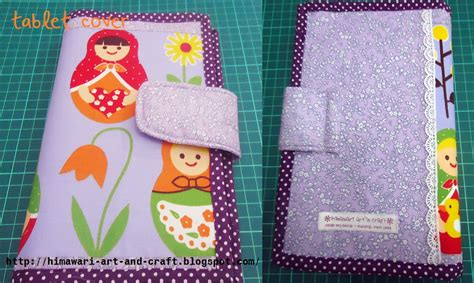 tutorial tas handmade himawari art n craft tutorial tablet cover