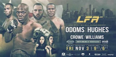 coming out swinging richard odoms coming out swinging at lfa 26 mmaweekly