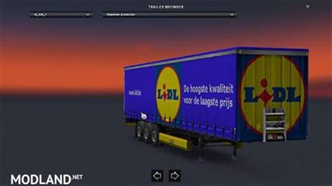 lidl trailer skin mod for ets 2