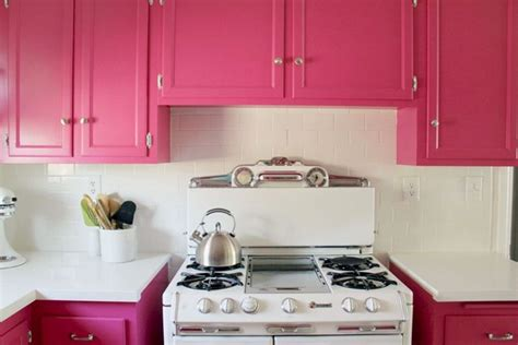 pink kitchen cabinets pink lady kitchen design ideas pictures decorating