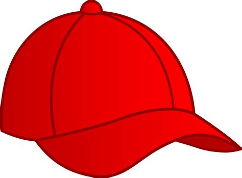 red baseball cap free clip art