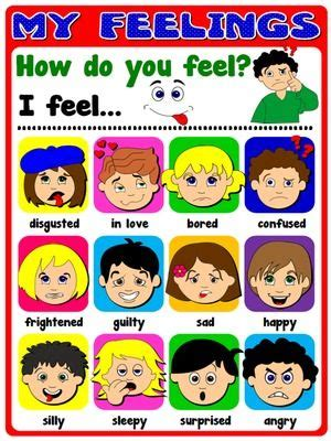 printable emotions poster feelings poster classroom posters pinterest