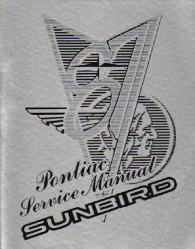 free car repair manuals 1983 pontiac sunbird electronic valve timing service manual 1983 pontiac sunbird service manal 1985 pontiac sunbird factory shop service