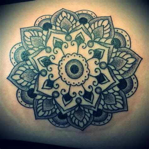 mandala designs cdcpc tattoo done on a thigh today