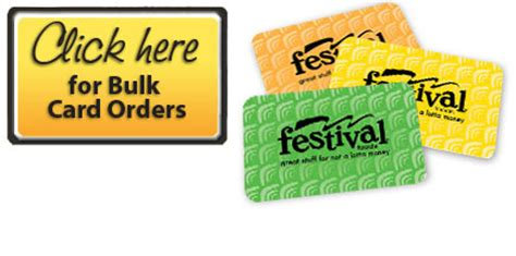gift cards in bulk festival foods gift card ordering home