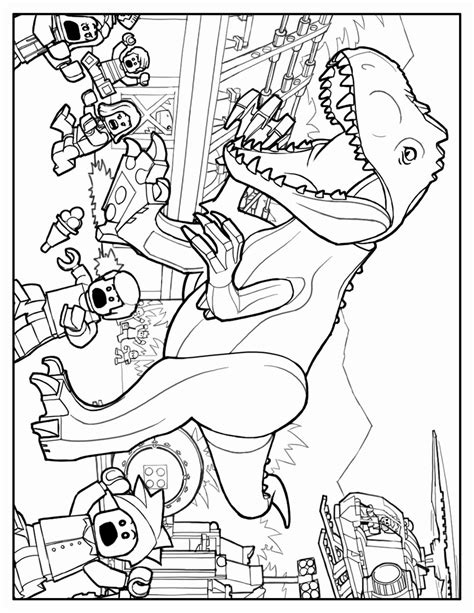 coloring page jurassic world jurassic world colouring pages