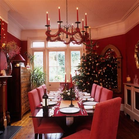 christmas dining room christmas dining room step inside this cosy christmas