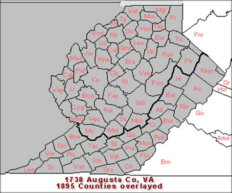 Augusta County Va Court Records Combs C Families Of Augusta County Virginia