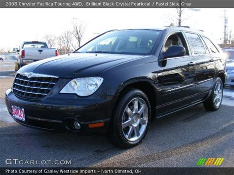 2008 Chrysler Pacifica Touring by Brilliant Black Pearlcoat 2008 Chrysler Pacifica