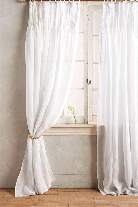 White Tie Top Curtains White Tie Top Curtains Free Image