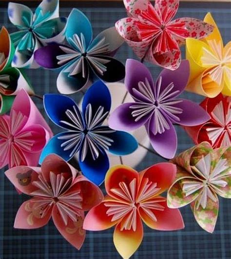 How To Make Colored Paper Flowers - the most adorable paper flowers my wedducation