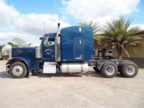 Extended Sleeper Trucks by Peterbilt 379 Extended 2001 Sleeper Semi Trucks