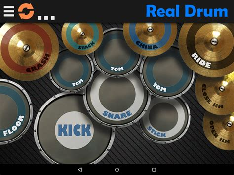 real drum 6 15 apk android - Apk Real Drum