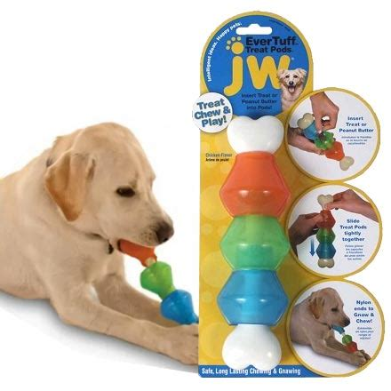 interactive puppy toys tuff treat pod chicken flavoured interactive
