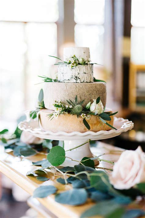 Wedding Cheesecake   A wedding cake made of cheese wheels