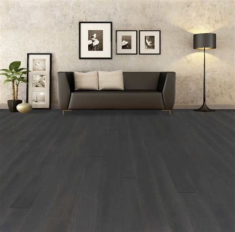 dark grey wood flooring   Amazing Tile