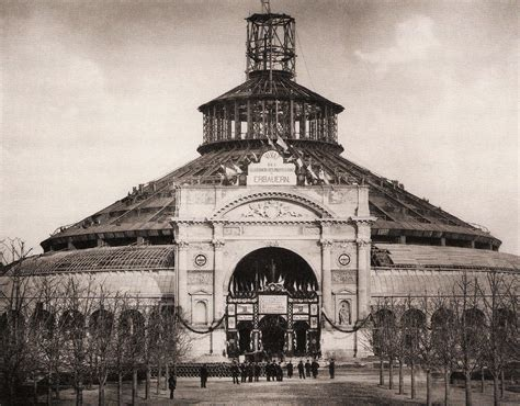 Pavillion Aus Holz 1877 by Rotunde Wien