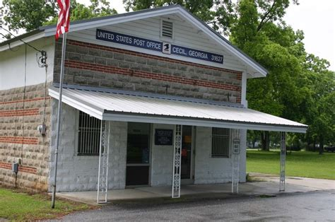 Ga Post Office by Cecil Ga Post Office 31627 Photo Picture Image