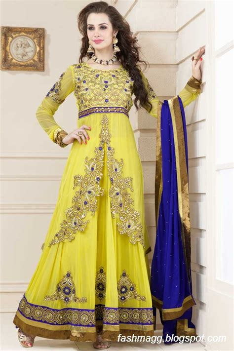 design clothes indian indian anarkali umbrella wedding brides bridal party wear