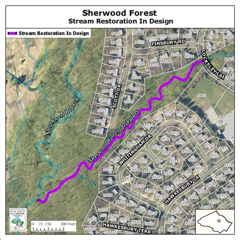 maryland forest map sherwood forest restoration department of