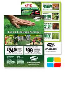 door hanger flyer template lawn maintenance flyer postcards door hangers eddm and