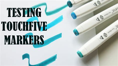 Touch Five Marker cheap copic alternative how many pages does a touch five