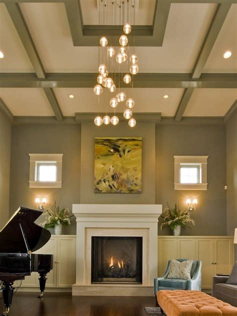 ceiling lights for the living room modern house