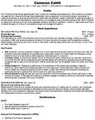 architecture and engineering resume sles