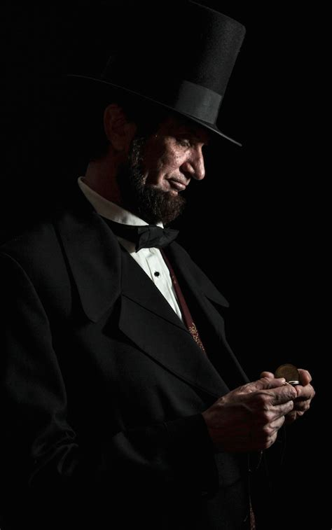 michael abraham lincoln actor and historical impersonator michael krebs portrays