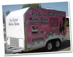 Mobile Pet Grooming Pet Cutz Mobile Salon Mobile Pet Grooming Service