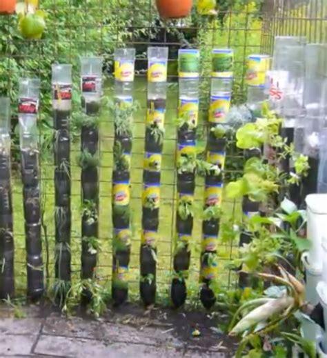pin diy water bottle vertical garden by windowfarm planted