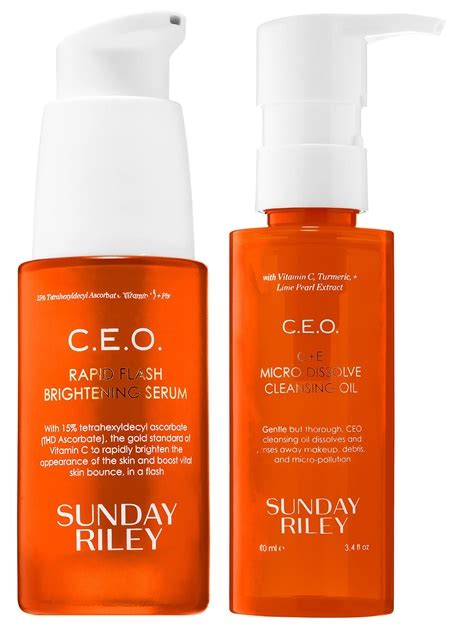 Sunday C E O Rapid Flash Brightening Serum sunday c e o skincare launches musings of a muse