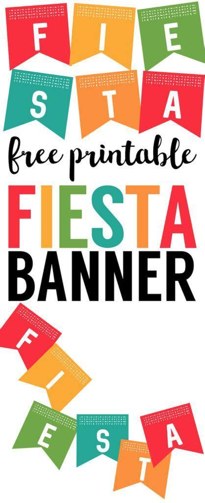 printable fiesta banner best 25 mexican fiesta decorations ideas on pinterest