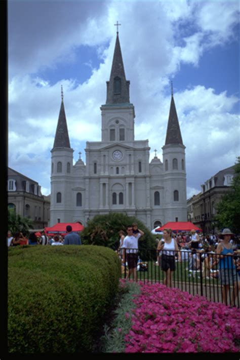 st louis cathedral  orleans attraction