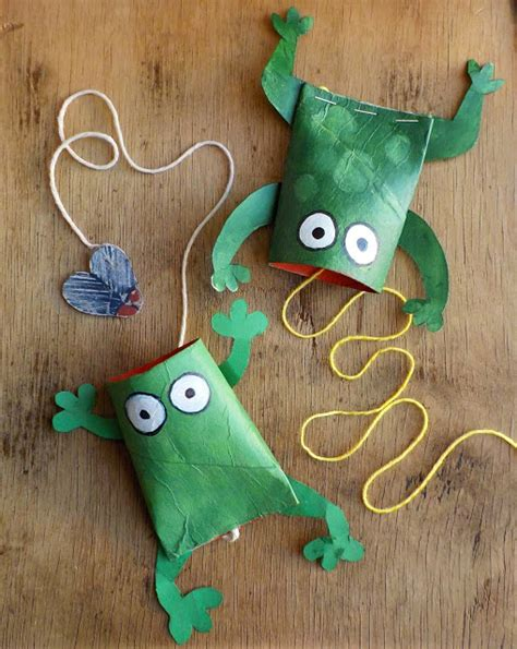 Paper Frog Craft - ten great frog crafts crafts