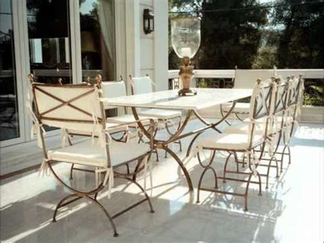 Outdoor Wrought Iron Patio Furniture Wrought Iron Furniture For Your Garden Landscaping Gardening Ideas