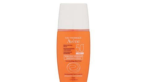 avene eau thermale ultra light hydrating sunscreen lotion winter skin care products southern living