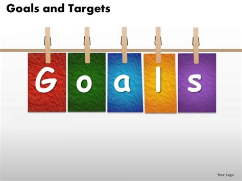 ppt templates for goal setting goal powerpoint template gavea info