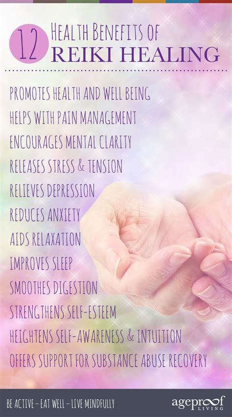 health benefits  reiki healing