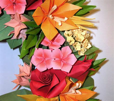 Origami Plants - origami flowers and plants