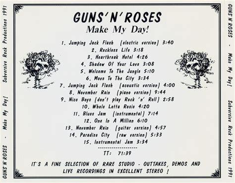 guns n roses my world mp3 download guns n roses make my day 1991 mail 4 metal blogspot