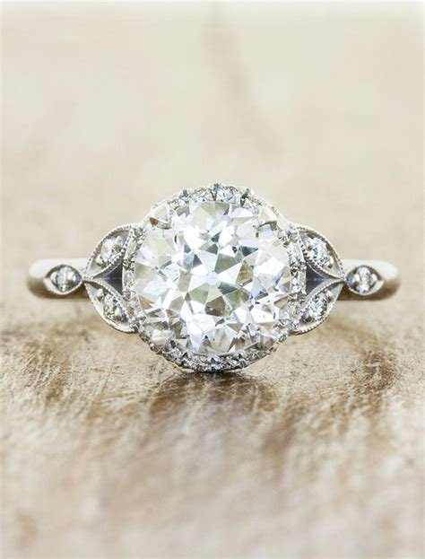 Unique Handmade Engagement Rings - rachael oval gold engagement ring ken
