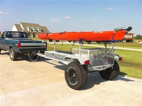 jeep kayak trailer 61 best images about kayak trailers on pinterest utility