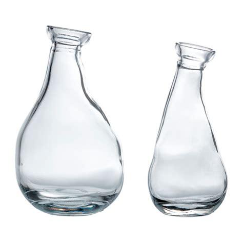 vasi di vetro ikea v 197 rvind set di 2 vasi ikea