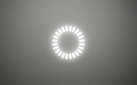 minimalistic white gray white magic light bulbs depth