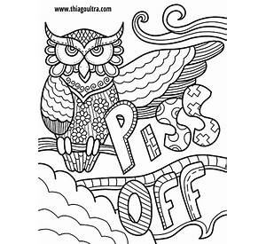 word coloring pages free printable - Swear Word Coloring Pages Printable Free