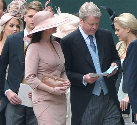 Countess Karen Spencer Earl Spencer Marries Karen Gordon In Althorp Northamptonshire
